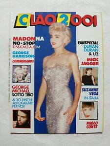 RARE-CIAO-2001-N-49-1987-MADONNA-NO-STOP-GEORGE-MICHAEL-HARRISON-DURAN-DURAN-U2