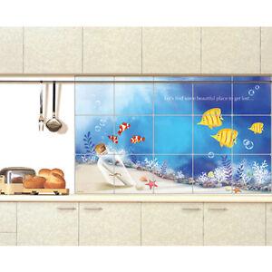 Details about Aluminum Foil Self Adhesive Wallpaper for Kitchen Backsplash  Washable Wall Decor