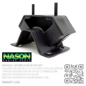NASON-T56-MANUAL-GEARBOX-MOUNT-V8-LS1-5-7L-MOTOR-HOLDEN-VT-VX-VY-VZ-COMMODORE