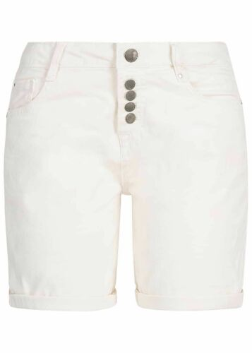 34/% OFF B19041269 Damen Eight2Nine Shorts Bermuda Destroy Look 5-Pockets weiß