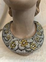 Heidi Daus All That Glitters Collar Necklace, Wow
