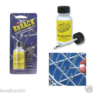 Performix-ReRack-WHITE-Vinyl-Dishwasher-Rack-Repair-1oz-NEW