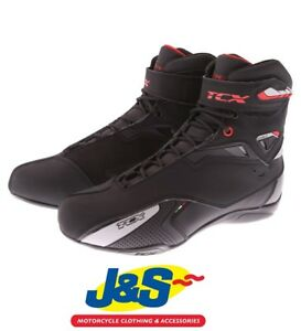 TCX Rush Waterproof WP Urban City Short Ankle Motorcycle Boots Shoes All Sizes