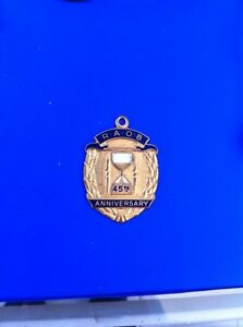 RAOB-45th-Anniversary-Pendant-Medallion-Badge-Maker-Parry-B-039-ham