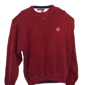 Details about Vintage Retro 90s Tommy Hilfiger Knitted Knit Lion Crest Sweater Size XL
