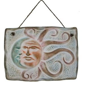 Eclipse Sunflower Octopus Ceramic Plaque For Wall Decoration