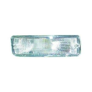 IPCW CWB-702 Crystal Clear Front Bumper Light Pair