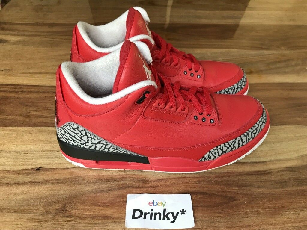 Nike Air Jordan 3 GRATEFUL DJ Khaled 11US AJ3-770438 We The Best Solefly Sample