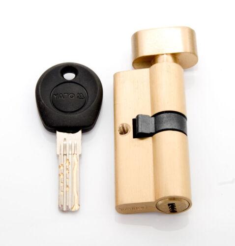 Schließzylinder Zylinderschloss 8 Schlüssel Messing Knaufzylinder Knauf Angebot