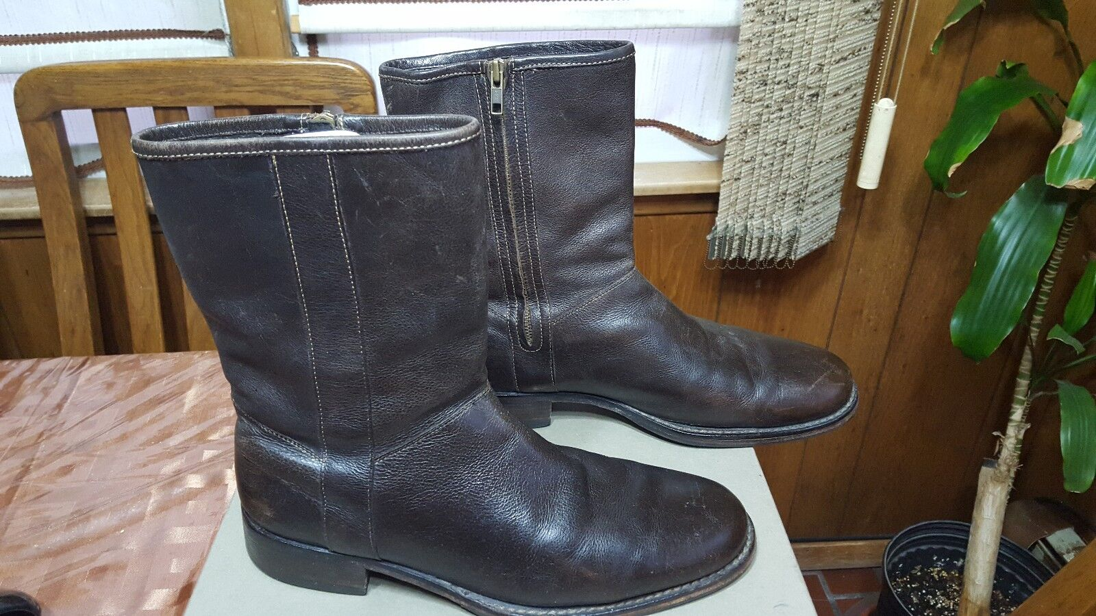Cole Haan Dylan Plain Toe Boot Espresso Brown in Size 10 228 NR