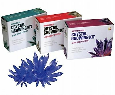 Crystal Growing Science Set Educational Grow Your Own Experiment Kit