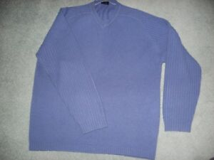 Next Medium Blue Mens Next Jumper Mens 5XS81RX
