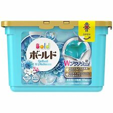 NEW!! P&G Bold gel ball 352g Laundry Wash White leaf fragrance - Made In JAPAN