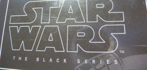 "Star Wars The Force Awakens Captain Phasma The Black Series 6/"" Figure #06 New!"