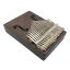 Portable-Mini-17-Keys-Kalimba-Thumb-Piano-Mahogany-Wood-Body-Finger-Mbira-Sanza thumbnail 1