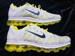en soldes 2eb71 16ff3 Details about WOMENS NIKE AIR MAX 2011 PLAT YELLOW WHITE SZ 10.5