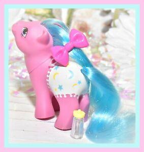 My-Little-Pony-MLP-G1-Vtg-1984-Baby-Fancy-Pants-Baby-Starburst-Pink-Blue