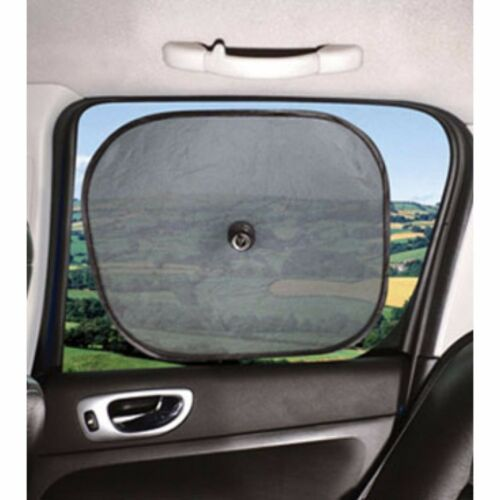 x2 Car Window Sun Shield/Shade/Blind Block TWIN PACK. UV Protection for Children