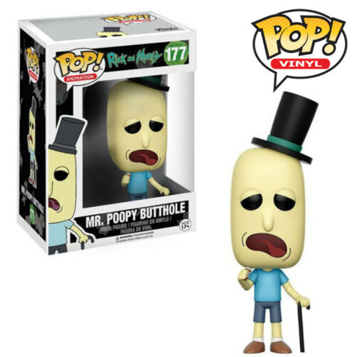 Official Rick and Morty Mr Meeseeks Scary Terry Funko Pop Vinyl Figures
