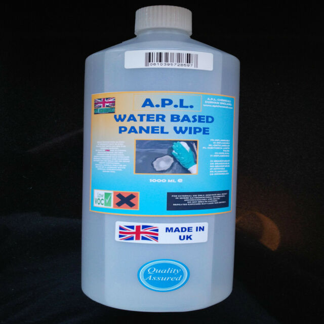 PANEL WIPE WATER BASED DEGREASER PRE PAINT WIPE 1 LTR