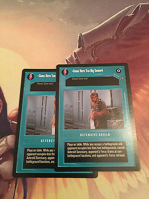 Star Wars CCG Reflections III Weapon Of A Sith NrMint-MINT SWCCG