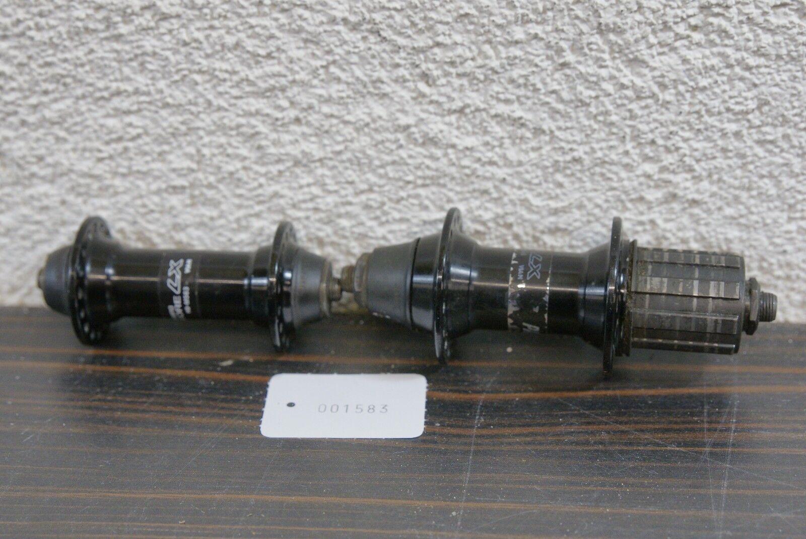 Shimano Deore LX Naben Satz 32 Loch FH-M565 und HB-M563 Kult Retro