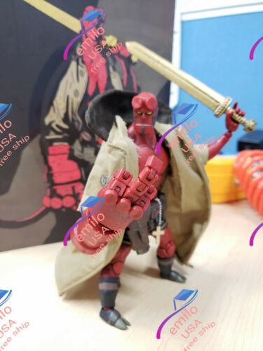 """Custom Sentinel Hellboy 1//12 6/"""" Action Figure Comic 1000 Jouets Mike laissent NEW IN BOX"""