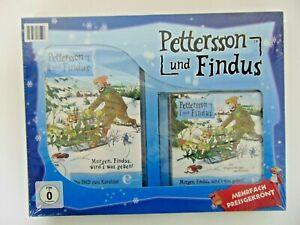 Pettersson-e-Findus-DVD-e-Radiodramma-CD-Morgen-Findus-E-S-Cosa-Conferire
