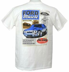 Ford-Muscle-Magazine-Fox-Body-T-Shirt-Discontinued-amp-ON-SALE-Free-US-Shipping