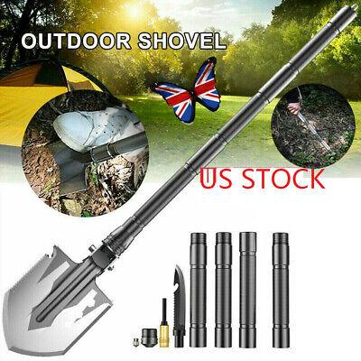 New High Alloy Steel Military Folding Shovels Multi-function Shovel Head Outdoor
