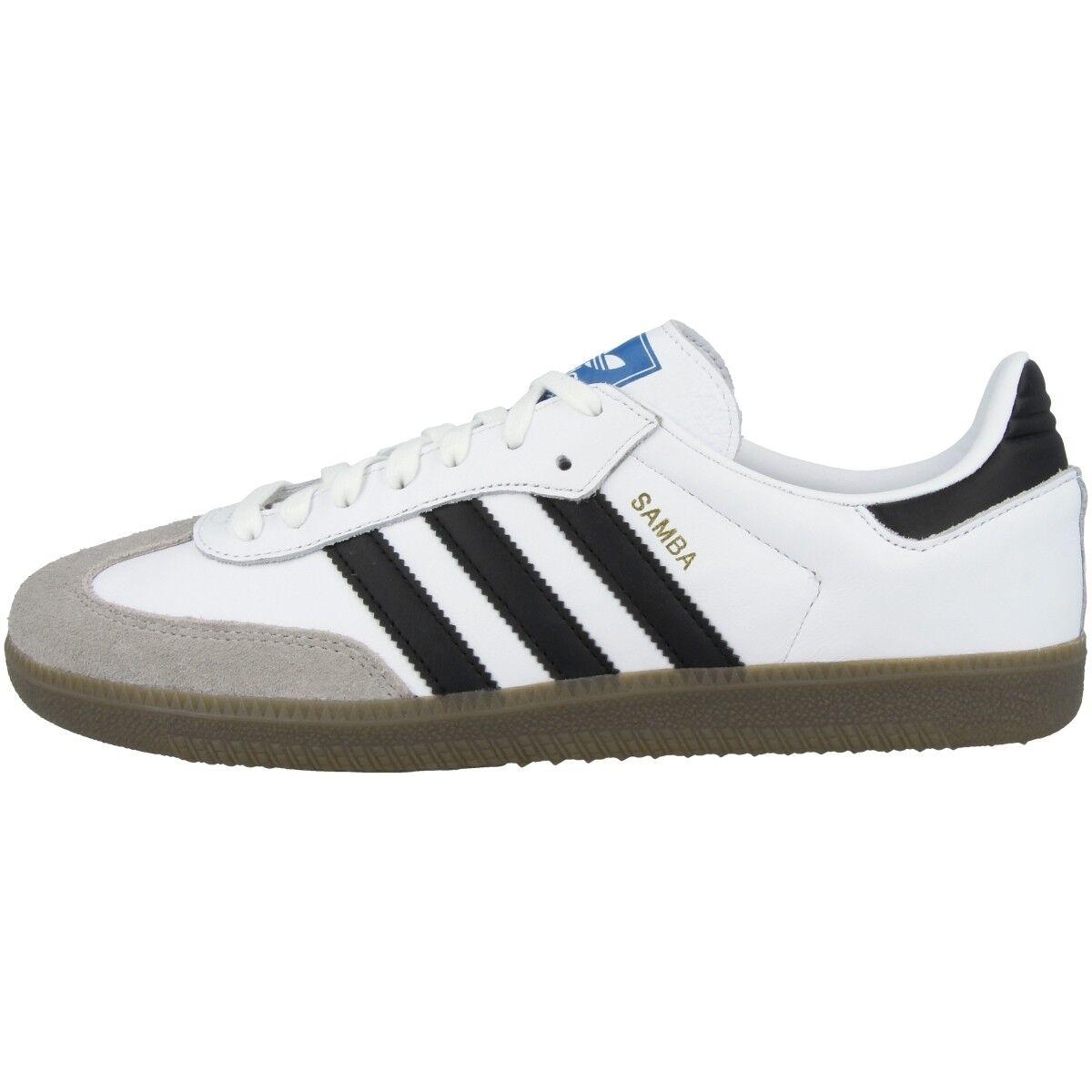Adidas Samba OG Schuhe Original Turnschuhe Sport Freizeit Turnschuhe Weiß B75806