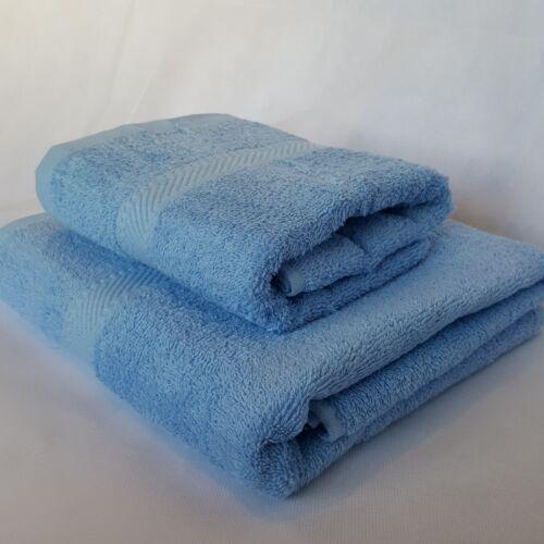 Qualité Indulgence 100/% coton 450gsm bleu ciel couleur main serviettes de bain