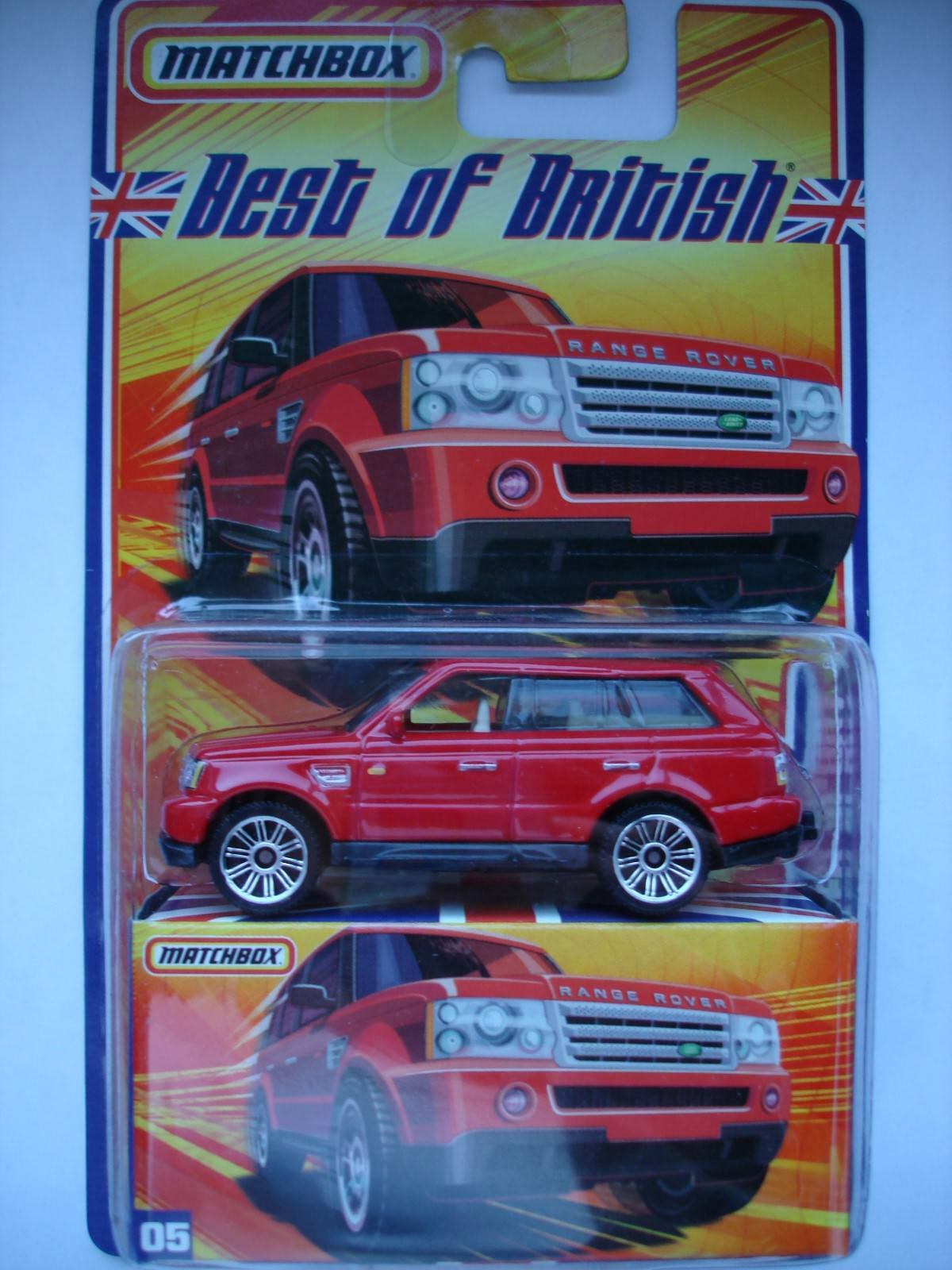 Matchbox Best of British 3 - Range Rover Sport -OVP-