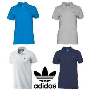 New-Mens-Adidas-Originals-Pique-Polo-Shirt-T-Shirt-Top-Tee-T-Shirts-S-M-L-XL