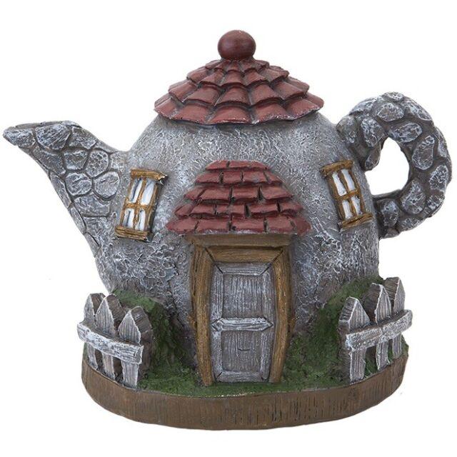 Secret Fairy Garden Teapot Palace Create Magical World Indoor Outdoor  Decoration