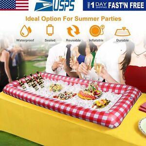 Bon CœUr Inflatable Serving Salad Bar Buffet Party Ice Food Beer Cooler Picnic Camping