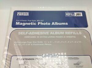 Large Magnetic Page X-Pando Photo Album Black