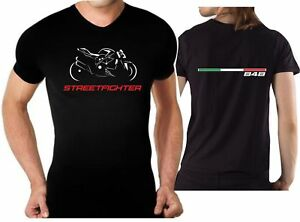 hot sales 949e9 c0a6f Details about T-shirt for bike DUCATI STREETFIGHTER 848 STREET FIGHTER  Tshirt motorcycle moto