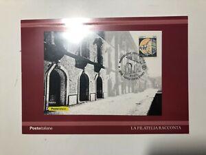 2019-Cartolina-Filatelica-Inaugurazione-Ufficio-Postale-L-039-Aquila-Ann-su-30-Lire