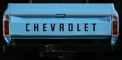 1973-1980 Fleet Side Chevy Pickup Tailgate Decal Letters 73-80