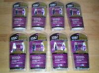 Belkin Gold Usb2 Hi Speed 6' Cable A Plug / 5-pin Mini B Plug Lot Of (8)