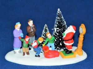 1998 Lemax Porcelain Hearthside Village SANTA TAKES GUESS Accessories #83274