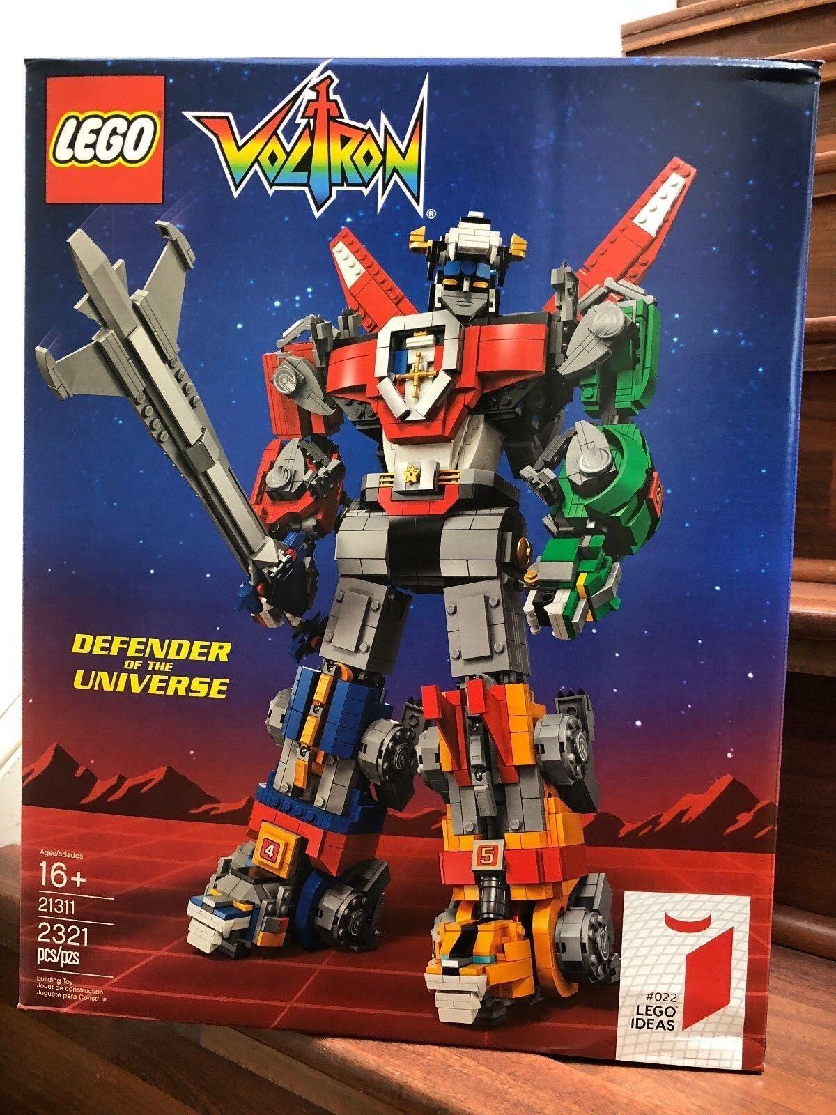 NEW LEGO Ideas Voltron 21311 , SEALED
