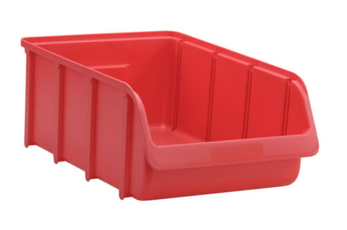 Profi Sichtbox PP Größe 5 rot NEU 495x315x185 mm Stapelbox Sicht-Lagerbox Box