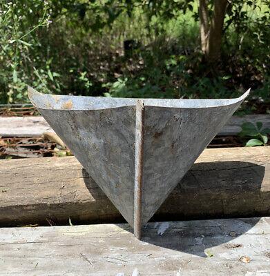 """Vintage """"Birds Eye"""" Turpentine Pitch Pot Cup Pine Sap Resin Florida REPURPOSE"""