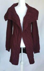 Anthropologie-Purple-Knit-Cardigan-Sweater-Medium