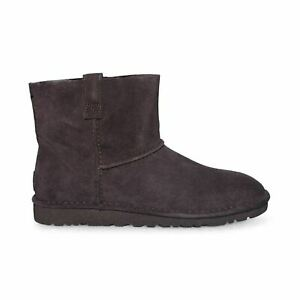 fc279ac1c8f Details about UGG CLASSIC UNLINED MINI STOUT SUEDE ANKLE WOMEN`S BOOTS SIZE  US 10/UK 8.5 NEW