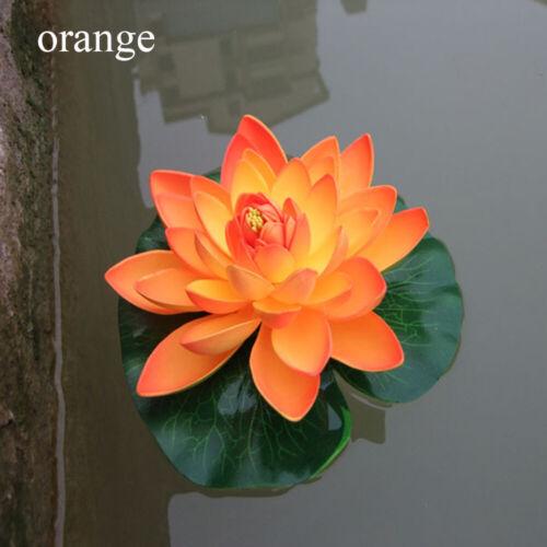 18cm Wedding Ornament Artificial Simulation Lotus Flower Lily Plants Home Decor