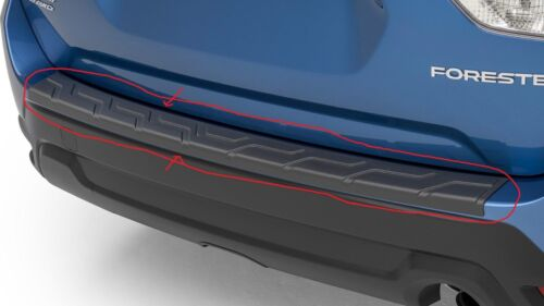 Genuine OEM 2019 Subaru Forester Rear Bumper Cover//Protector