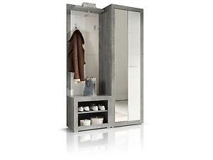 Stan Garderobe Spiegel Garderobenschrank Wandgarderobe F Diele